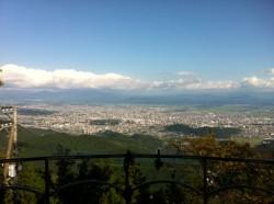 金峰山より